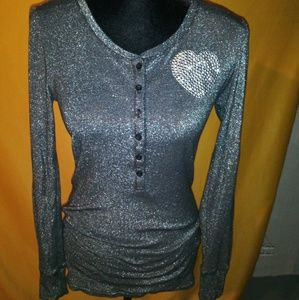 Victoria secret long sleeve shirt size  S-P